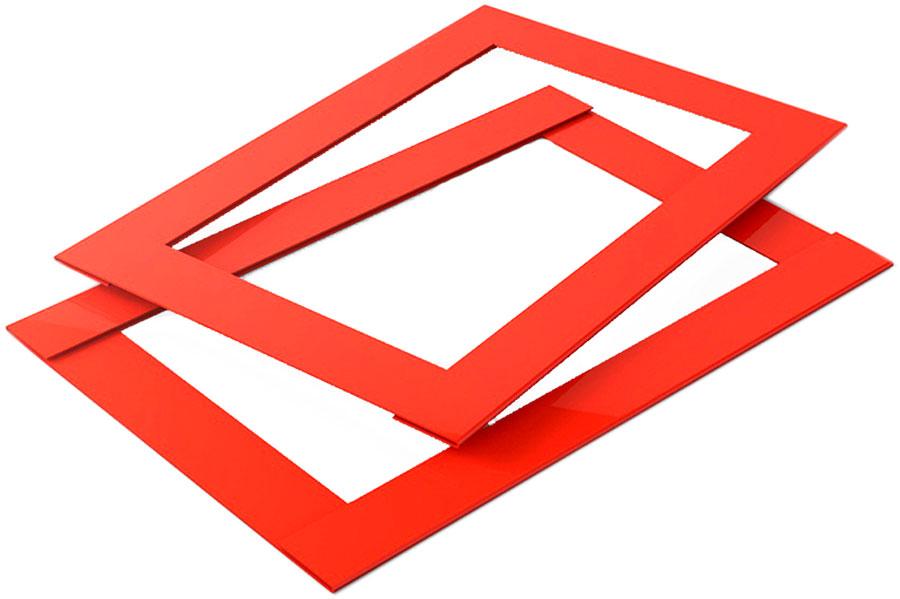 Календарные курсоры 2-ой размер, 100 шт, красные