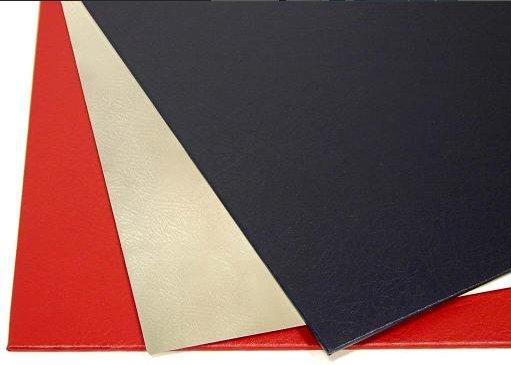 Твердые обложки O.HARD COVER Mundial 217x300 мм с покрытием «кожа» без окна, красные