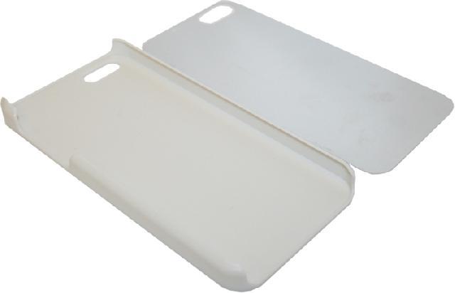 Чехол для  iPhone 5/5S пластиковый белый Компания ForOffice 105.000