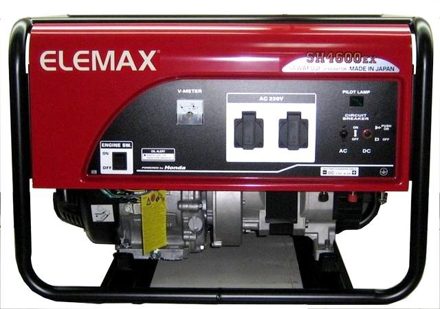 Бензиновый генератор_Elemax SH 4600 EX-R