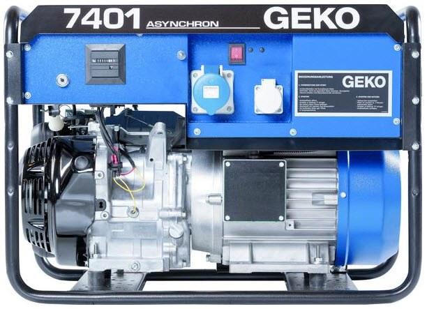 Бензиновый генератор_Geko 7401 E-AA/HHBA