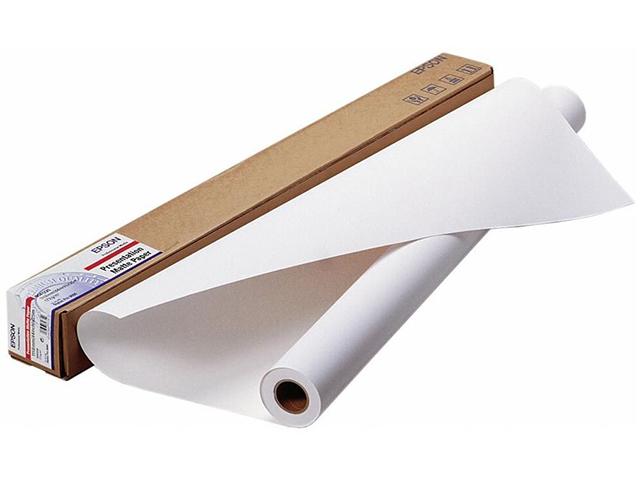 Рулонная бумага_Epson Presentation Matte Paper 44, 1118мм х 25м (172 г/м2) (C13S041220)