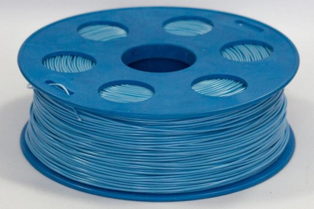 Пластик PLA голубой, 1кг
