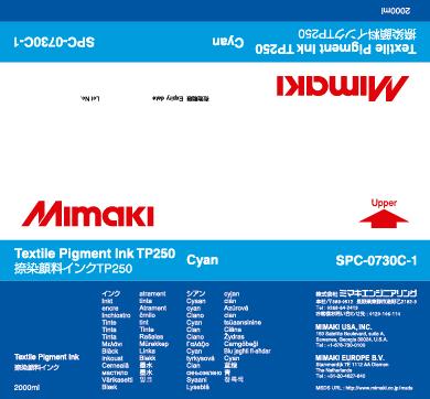 Купить Чернила Mimaki TP250 Cyan в официальном интернет-магазине оргтехники, банковского и полиграфического оборудования. Выгодные цены на широкий ассортимент оргтехники, банковского оборудования и полиграфического оборудования. Быстрая доставка по всей стране