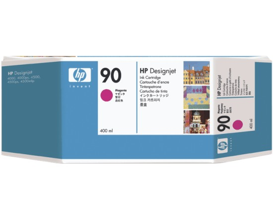 Картридж HP Inkjet Cartridge №90 Magenta (C5063A) hp 83 680ml magenta c4942a