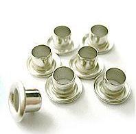 Люверсы / Колечки Piccolo (серебро), 4 мм, 9000 +-10% шт, 1 кг