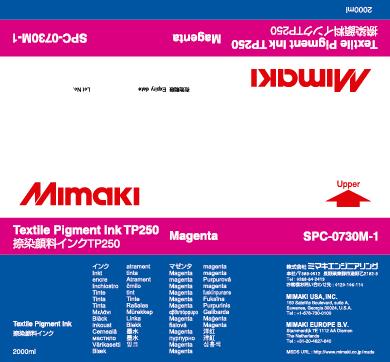 Купить Чернила Mimaki TP250 Magenta в официальном интернет-магазине оргтехники, банковского и полиграфического оборудования. Выгодные цены на широкий ассортимент оргтехники, банковского оборудования и полиграфического оборудования. Быстрая доставка по всей стране