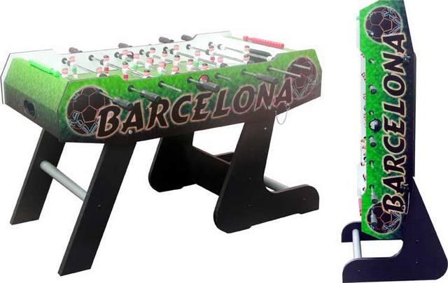 Игровой стол_Настольный футбол (кикер) Barcelona