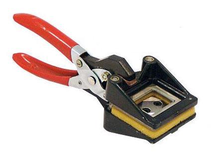 Вырубщик фото 35х45 ручной вырубщик id карт из картона id5486