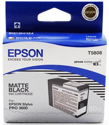 Картридж Epson C13T580800 Matte Black