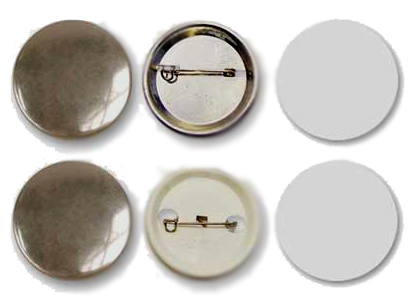 Заготовки для значков   d32 мм, металл/булавка, 200 шт
