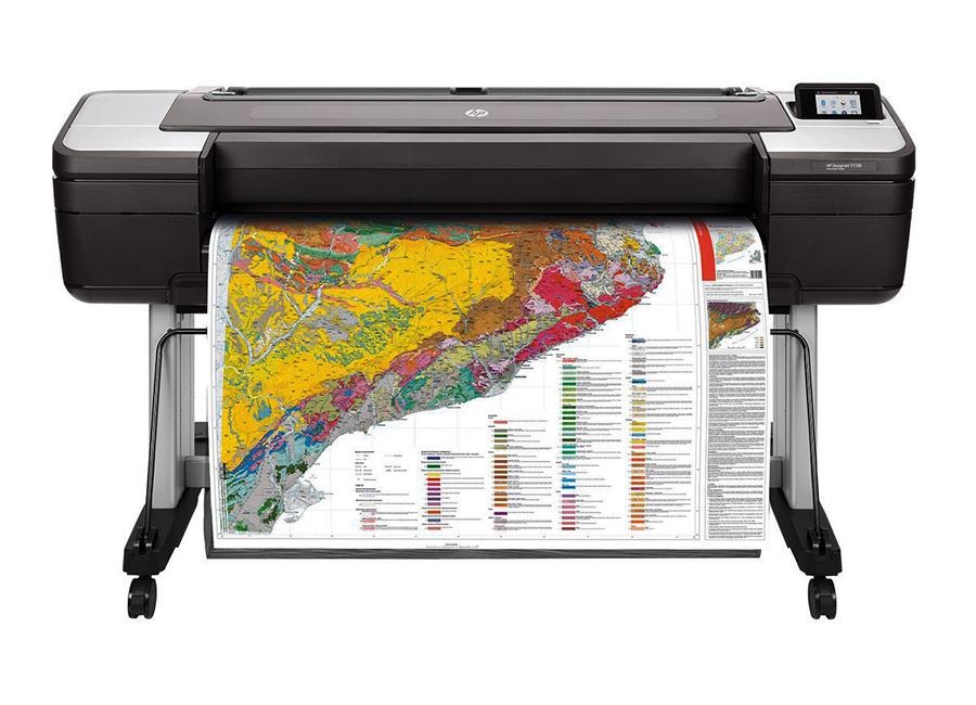 HP DesignJet T1700dr 44-in PostScript Printer (1VD88A) hot sales 80 printhead for hp80 print head hp for designjet 1000 1000plus 1050 1055 printer