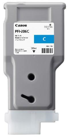 Картридж Cyan PFI-206C (голубой) картридж cyan pfi 107 c голубой