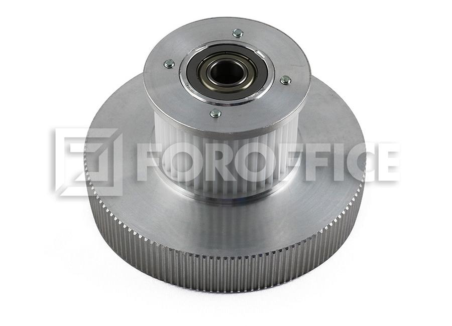 Правосторонний шкив по оси Y для плоттеров JV5-320, TX400, TS500 mimaki jv5 hdc board