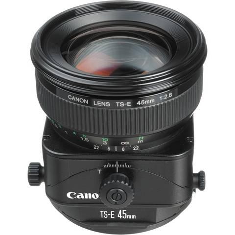Объектив Canon TS-E 45mm f/2.8