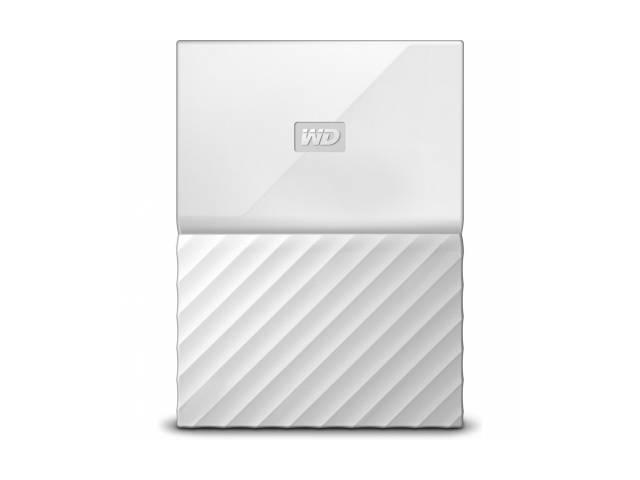 Внешний жесткий диск Western Digital My Passport 1ТБ (WDBBEX0010BWT-EEUE), белый