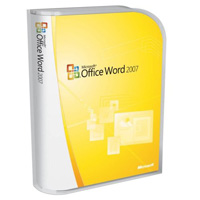 Word 2007 Win32 Russian Disk Kit MVL CD, PartNumber 059-06339