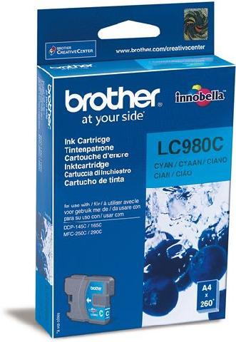 Картридж Brother LC980C