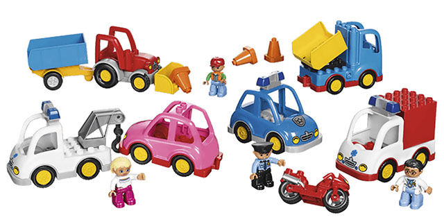 Муниципальный транспорт Lego Duplo