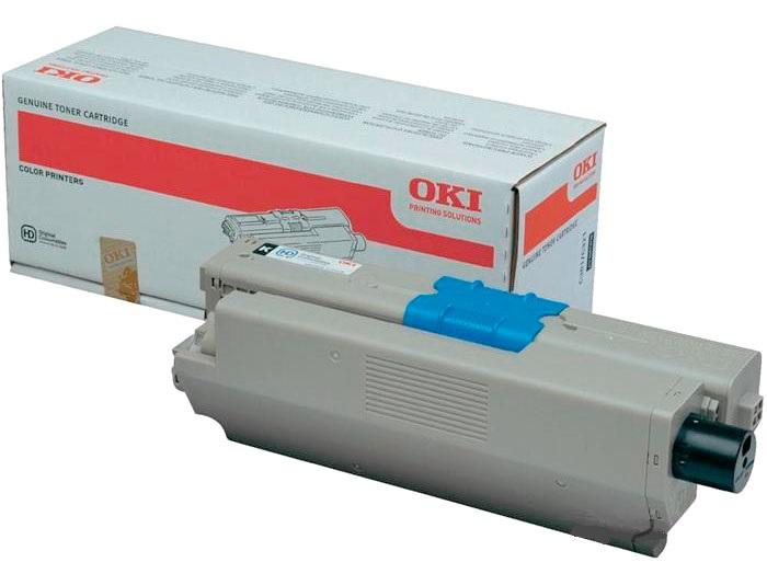 Тонер-картридж TONER-K-C332/MC363-1.5K-NEU (46508740) картридж oki c332 mc363 3k cyan 46508735