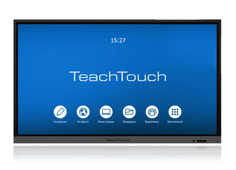 Интерактивная панель TeachTouch 3.5 55, UHD, 20 касаний, Android 7.0 metz planea 55 uhd
