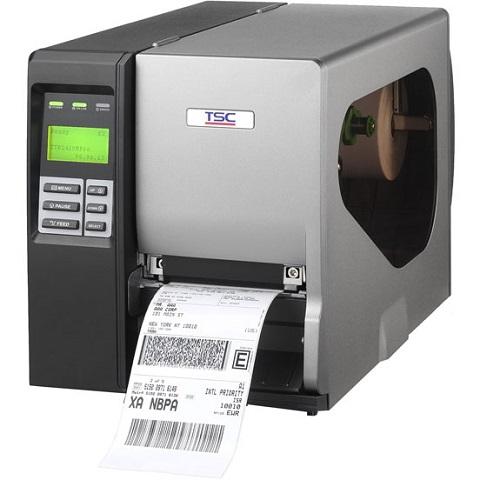Принтер этикеток TSC TTP-2410MT PSUR+Ethernet (с внутренним намотчиком)
