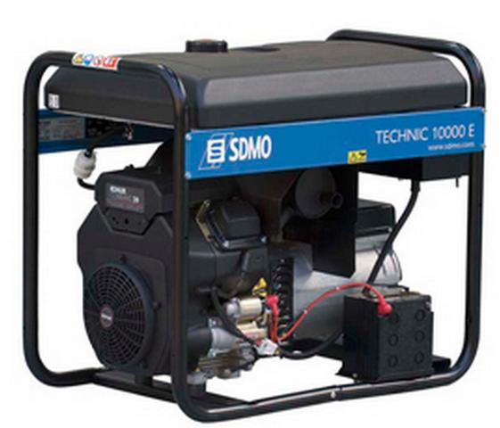 Бензиновый генератор SDMO Technic 10000E