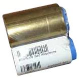 Монохромная золотая лента   800015-106