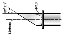 Нож ZEC-U3100 для резки толстых материалов (угол 32) для плоттеров   (оригинальный)