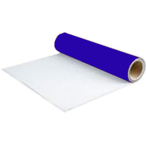 Пленка для термопереноса на ткань   Duoflex бело-синяя