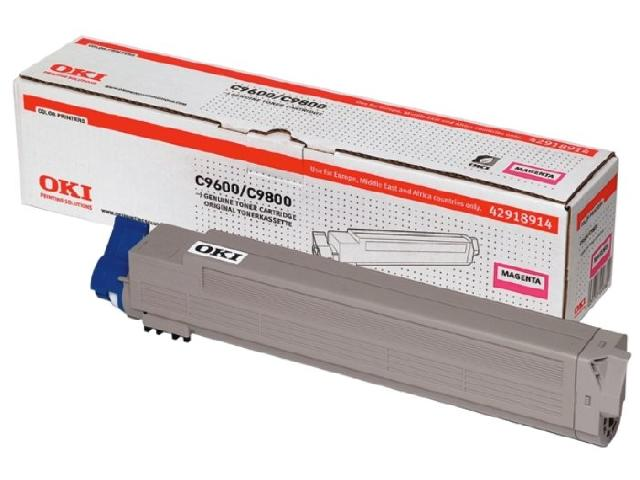 Тонер-картридж TONER-M-C96/9800-NEU (42918914 / 42918962) high quality toner powder compatible oki c9600 c9800 9600 9800 free shipping