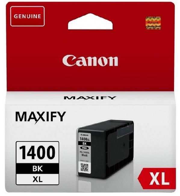 Картридж   PGI-1400XL Bk (9185B001) чернильный картридж canon pgi 29pm