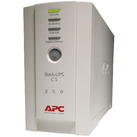 APC Back-UPS CS 350VA/210W (BK350EI)