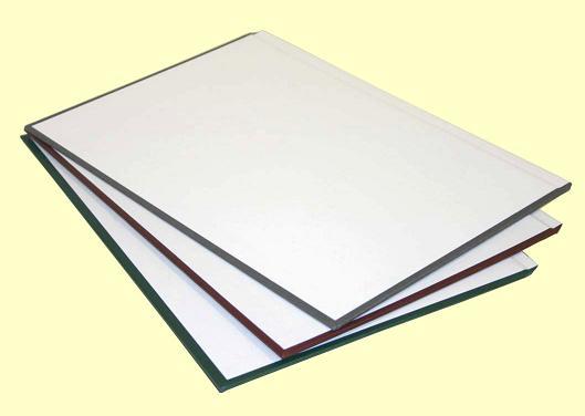 Твердые обложки O.HARD COVER Classic 217x300 мм с покрытием «ткань» без окна альбомные с белым форзацем, синие