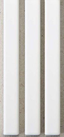 Металлические каналы O.Simple Channel А5 210 мм Mini, белые