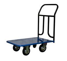 Тележка платформенная 4-х колесная ручная_Стелла КП-150 (до 400 кг)