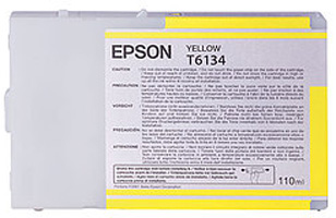 T6134 Yellow 110 мл (C13T613400) epson t7014 xl c13t70144010 yellow картридж для workforce pro wp 4000 5000 series