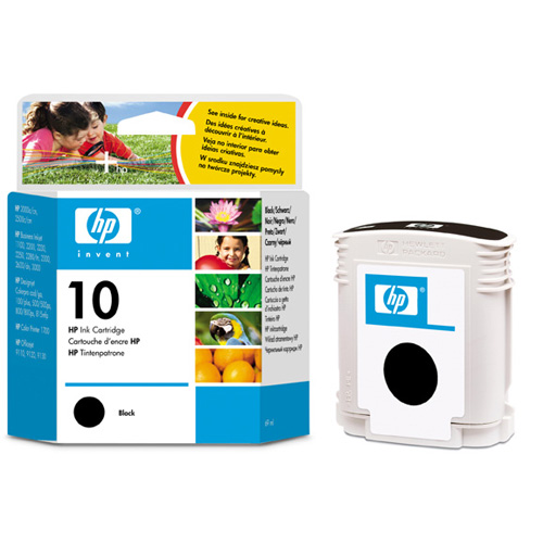 Картридж HP Inkjet Cartridge №10 Black (C4844A) картридж hp inkjet cartridge 90 black c5058a