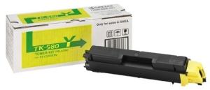 Тонер-картридж TK-580Y картридж kyocera mita tk 580y