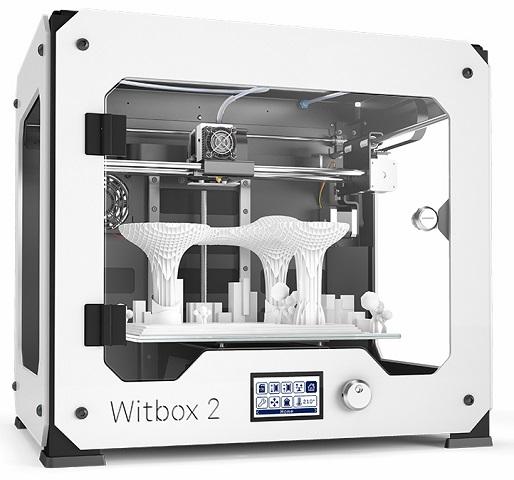 Witbox 2 принтер 3d bq witbox 2