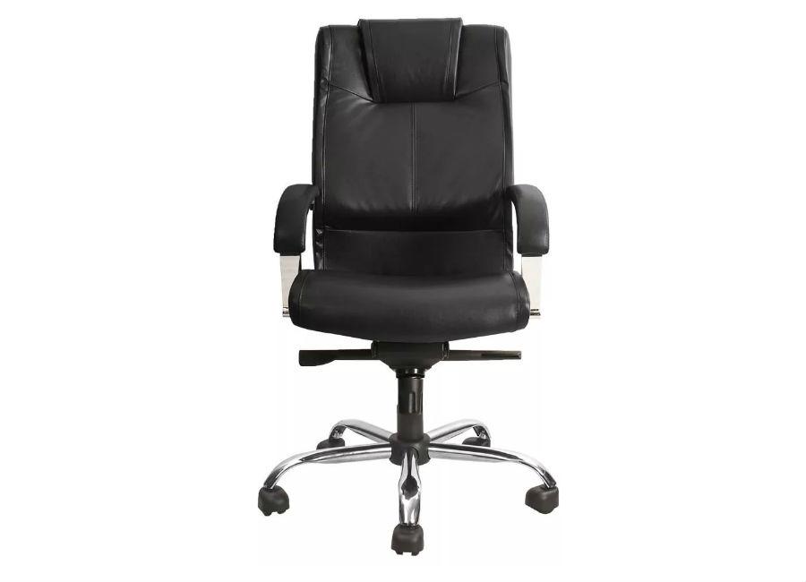 Кресло руководителя Verona Steel Chrome PU01 quelle heine 14058
