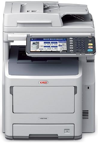 Многофункциональное устройство (МФУ) Oki MB760dnfax (45387104)