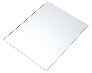 Пластик белый Инлей 100 листов А4 Компания ForOffice 11668.000