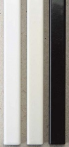 Металлические каналы O.Simple Channel А4 297 мм 20 мм, белые