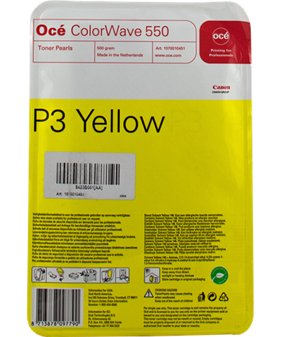 все цены на  Картридж OCE ColorWave 550 Yellow, 500 гр (8425B001)  онлайн