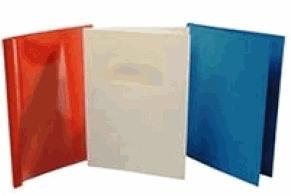 """Термообложки  картонные Ibico, """"под кожу"""", А4, 10 мм, белые Компания ForOffice 750.000"""