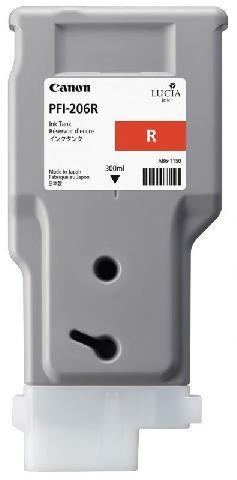 купить Картридж Red PFI-206R (красный) по цене 16081 рублей