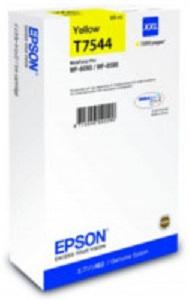 Картридж экстраповышенной емкости с желтыми чернилами T7544 для WF-8090, 8590 (C13T754440) цены онлайн