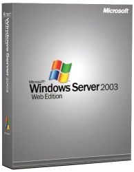 Windows Svr Web 2003 w/SP2 Win32 English 1pk DSP OEI CD 1-2CPU, PartNumber P70-00275