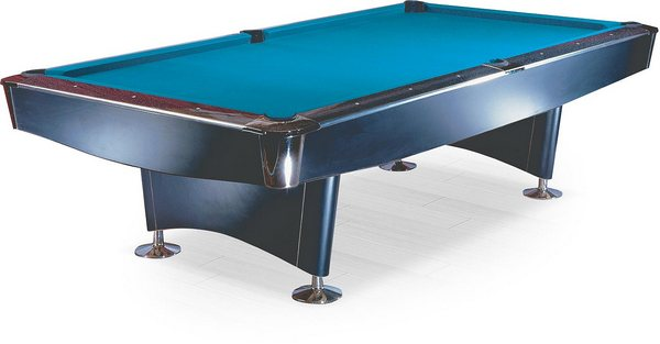 Бильярдный стол_Американский пул Reno (8 футов, чёрный)
